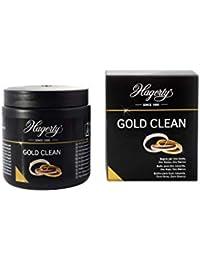HAGERTY - Gold Clean - Limpiador por inmersión de joyas de oro blanco, rosado y amarillo o chapada - 1 unidad 170 ml - Protegida y brillante en 2 minutos.