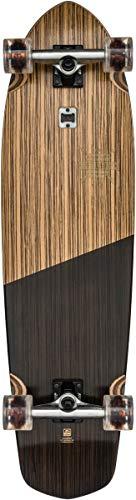 Globe Blazer XL Skateboard, Zebrawood/Black, 36