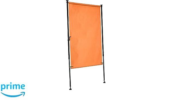 Amazon.de: Angerer Balkon Sichtschutz uni orange Polyacryl, 150 cm ...