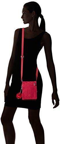 Kipling Damen Eldorado Umhängetasche, 15x19.5x2 cm Pink (Cherry Pink C)