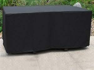 Housse de protection table de jardin coloris noir DCB Groupe HOUSSE-6P
