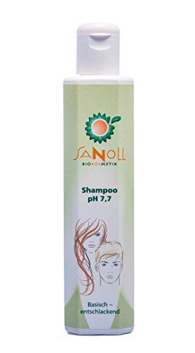 Bio Shampoo pH 7,7 - basisch-entsäuernd 200ml -