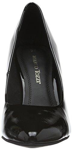 Marco Tozzi 22423, Scarpe con Tacco Donna Nero (BLACK PATENT 018)