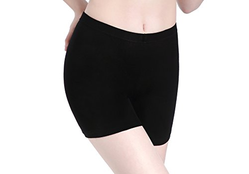 Kurz - Yoga Kurze Hose Unter Rock - Schwarz Shorts (Leggings Halloween)