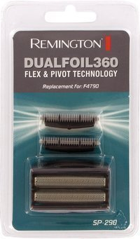 Remington SP290 Dualfoil 360 Flex & Pivot F4790 Electric Shaver Dual Foil Heads & Cutter Blades Pack