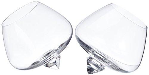Normann Copenhagen Cognac Glas, 2er-Set, Durchmesser 11 cm, 25 cl