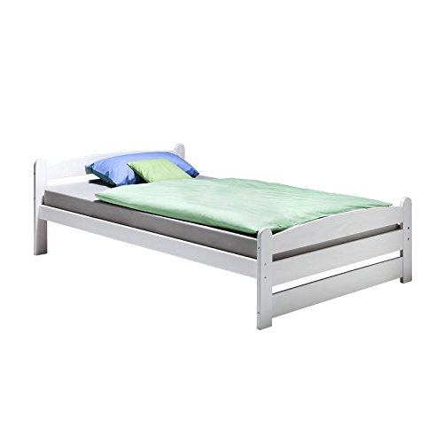 Einzelbett Jugendbett Bett GRETA, Kiefer massiv, 120x200cm, gebraucht kaufen  Wird an jeden Ort in Deutschland