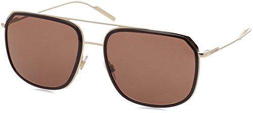 Dolce & Gabbana Herren 0DG2165 488/73 58 Sonnenbrille, Braun Pale Gold/Brown