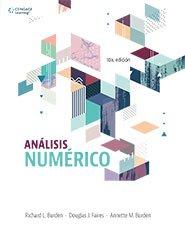 Análisis numérico - 10ª edición
