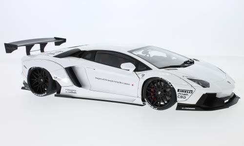 Lamborghini Aventador Liberty Walk LB-Works, Weiss, 2015, Modellauto, Fertigmodell, AUTOart 1:18