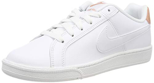 Nike Damen Court Royale Gymnastikschuhe Mehrfarbig White/Rose Gold 116, 40 EU