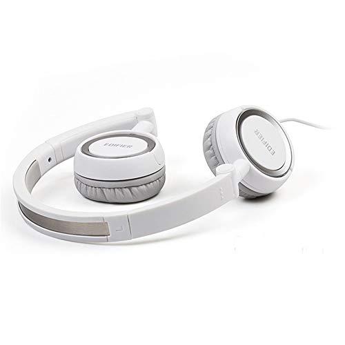 AJKFDJIL Ear Ohrhörer Headphones Folding Design Noise Reduction Headphones with Microphone Clear Call Mobile Tablet Computer -