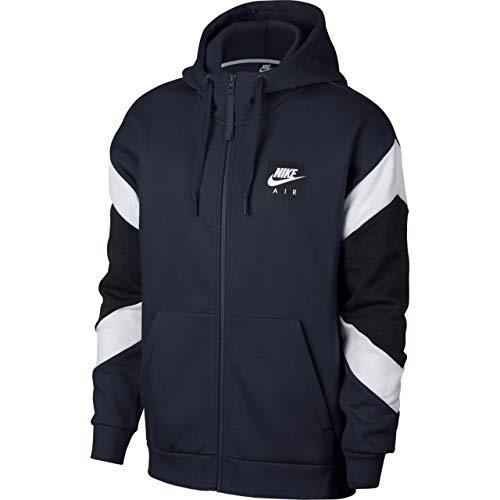 Nike Herren Sportswear Jacket, Schwarz/Weiß (Obsidian/White/Black), XL - Blaue Schwarze Und Nike-jacke