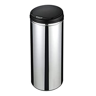 Anything4home Sensor Bin 50L Stainless Steel Kitchen Automatic Trash Rubbish Capacity Can with Metal Body