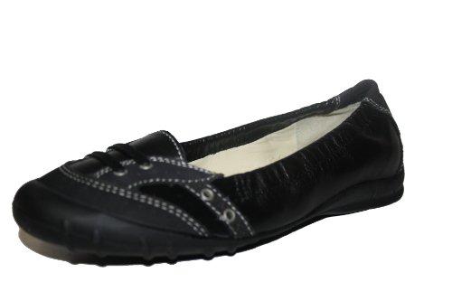 Ricosta meddie (m) 78.293/090, ballerines fille Noir - Noir