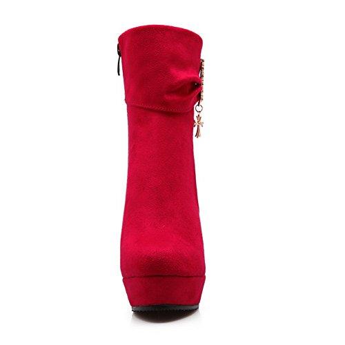 Balamasa - Bottines Chelsea Pour Femmes Rouges