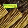24-26mm 244x244 Bambus Zaun Bambusrollzaun Lattenzaun von Poppe-Portal auf Du und dein Garten