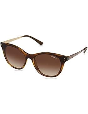 Vogue 0Vo5205S, Gafas de Sol para Mujer, Dark Havana, 62