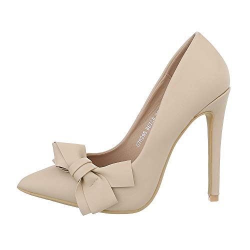 Ital-Design Damenschuhe Pumps High Heel Pumps