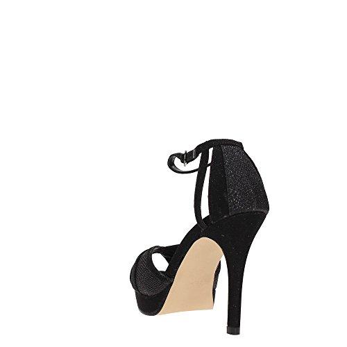 Paco Mena Beirut, Chaussures Compensées Femme Black