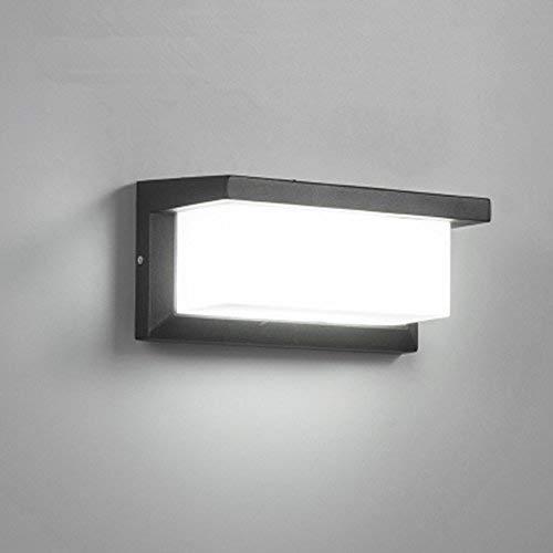 Glighone Apliques de Pared LED 10W Lámpara en Moda Luz de Aluminio...