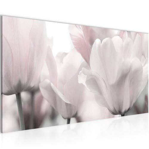 Bild Bilder Wandbild XXL Blumen Magnolien Kunstdruck Leinwand Vlies Wanddeko