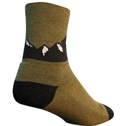 SockGuy Crew Technische Socken, unisex, Crew, Wool Colorado Mountain (Wool Socks Herren Apparel)