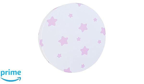 Plafoniera Tessuto Elasticizzato : Bainba plafoniera applique stelle e bianco cm