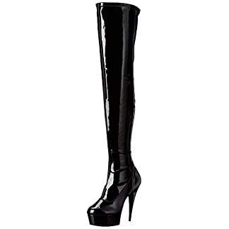 Pleaser Women's DELIGHT-3000 Unlined classic boots long length