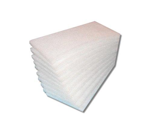 20 filtros de repuesto Filtro G2 para nibe vpf 2000, grosor de filtros,  tipo aprox  8 – 10 mm, clase G2, color blanco