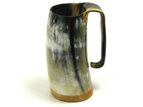 unique-handcrafted-medium-ox-horn-tankard-soldiers-mead-mug-cup-2-finishes-by-abbeyhorn
