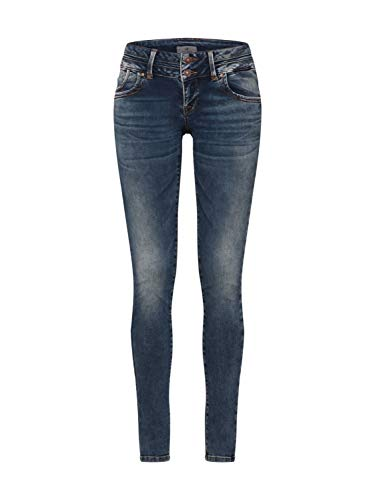LTB Jeans Damen Julita X Skinny Jeans, Blau (Nome Wash 51895), W30/L34 (Herstellergröße: 30/34) - Denim Frauen Für Bekleidung