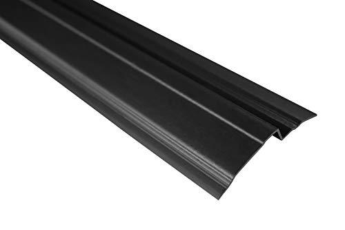 10 Meter | Abdeckprofil Schutzleiste für Noppenfolie | PVC | 65x10 | Lemal | PT6