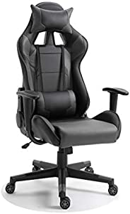 Mahmayi C599 Adjustable PU Leather Gaming Chair - PC Computer Chair for Gaming, Office or Students, Ergonomic