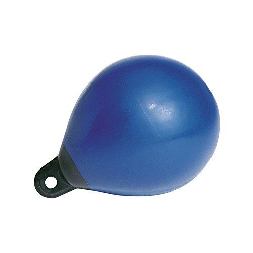 Majoni Kugelfender Fenderboje Bootsfender blau, Durchmesser 65 cm