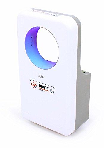 Händetrockner Jet Dryer ORBIT - Schneller und leistungsstarker handgefertigter Händetrockner mit Trockenbodensystem - Weiß