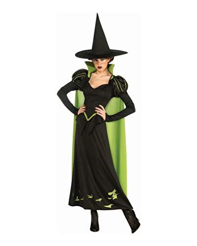 Horror-Shop Zauberer von Oz Hexenkostüm (Dorothy Zauberer Von Oz Kostüm Für Erwachsene)