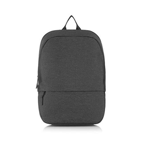 BYNNBG Minimalistische Urban Rucksack, Casual Business Laptop-Tasche 14-Zoll-15,6-Zoll-Schule Männer und Frauen Schultasche (Farbe : Dunkelgrau)