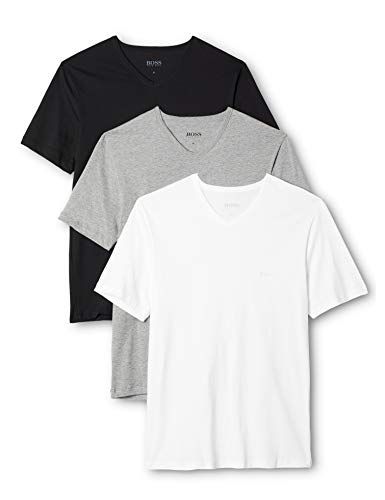 BOSS Herren VN 3P CO T-Shirts, Mehrfarbig (Miscellaneous 999), Small (3er Pack)