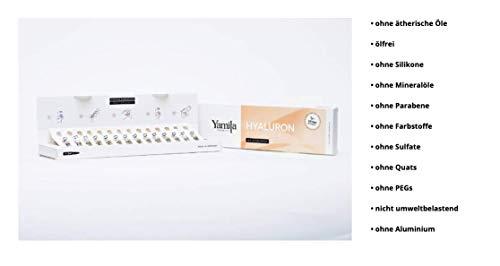 HYALURON AMPULLEN mit Lifting Effekt - Feuchtigkeitsbooster plus Liftingeffekt - 14 x 2ml von Yamila...