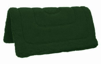 Tough 1 Heavy Western Fleece Pad, Hunter Green, 32