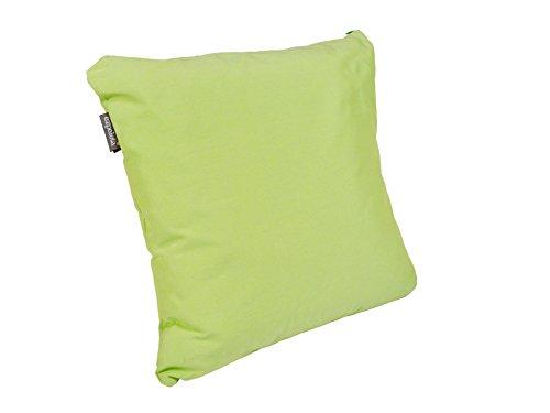 EZPELETA Green - Coussin Carré, Plastique, 50 x 50 x 15 cm, Couleur ver Citron