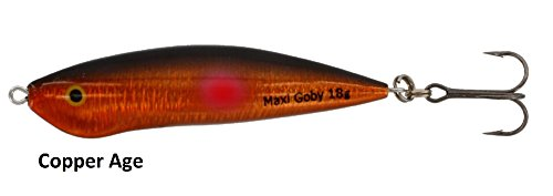 Westin Maxi Goby Meerforellenwobbler 18g 7cm, Angelköder für Meerforelle, Wobbler zum Spinnfischen an der Ostsee, Nordsee, Dänemark & Norwegen, Forellenköder, Forellenwobbler, Farbe:Copper Age