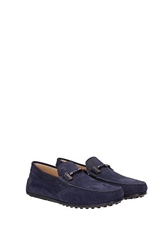 XXM0VH0L900ENKU820 Tod's Loafers Herren Wildleder Blau Blau