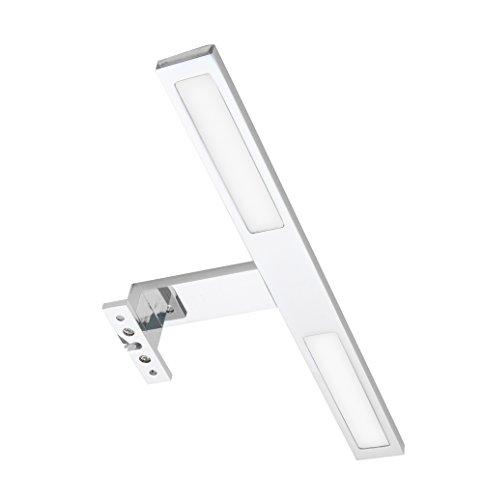LED SMD Aufbau Leuchte Lampe 6W aluminium matt inkl. Trafo Schrankleuchte - Schrank Leuchten