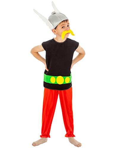 Kostüm Kind Asterix - Generique - Asterix-Jungen Kostüm Lizenz-Verkleidung Kinder bunt 140 (9-10 Jahre)