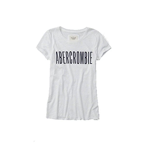abercrombie-fitch-logo-graphic-t-shirt-wei-neue-kollektion-xs