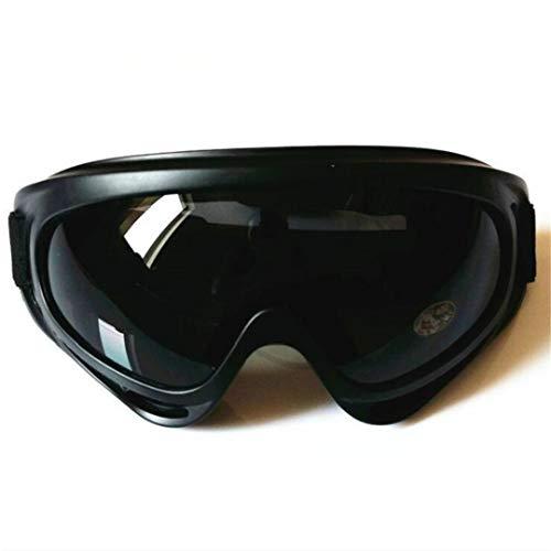 H-MetHlonsy Militärbrille Moto Kugelsichere Armee Polarisierte Sonnenbrille Jagd Schießen Luftgewehr Fahrrad Motorrad Brille Outdoor Sports Black