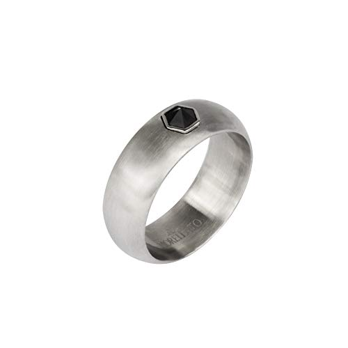Morellato Anello da uomo, Collezione Vela, in acciaio, cristalli - SAHC19019