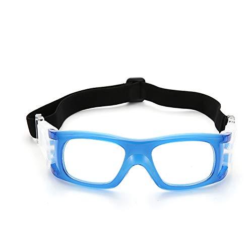 Yiph-Sunglass Sonnenbrillen Mode Neue professionelle Männer Frauen Ausrüstung Outdoor-Sport Brille Fußball Anti-Fog Brille kann mit Myopie Basketball Gläser ausgestattet Werden (Color : Blue)